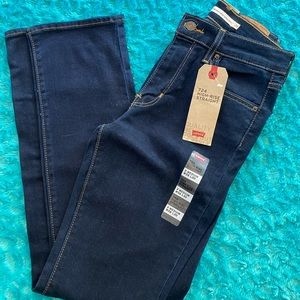 Levi's 724 high rise jeans. Size 2